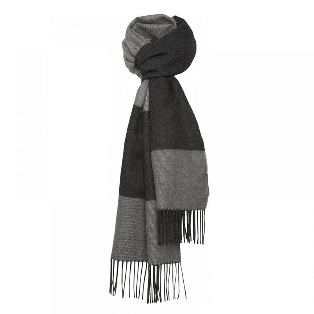 Halstørklæde - Baby alpaca salta grå