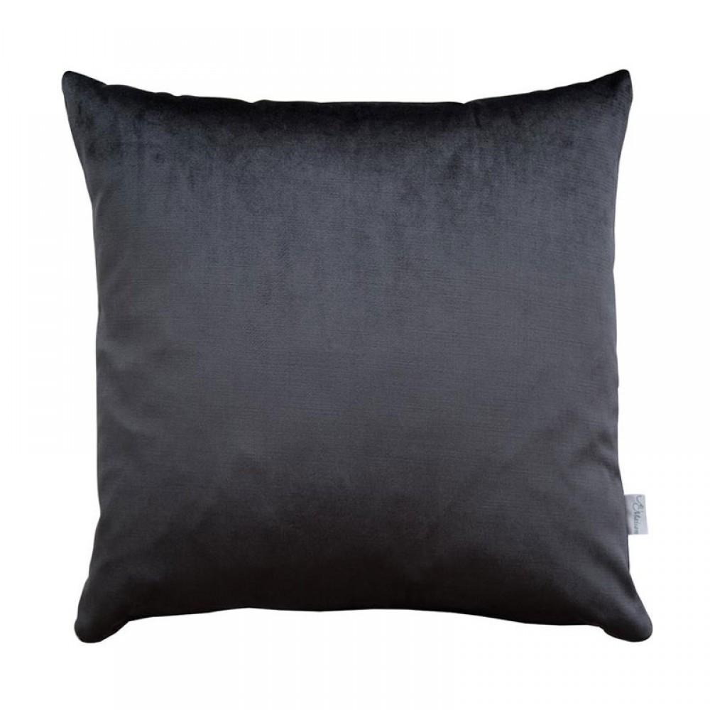 Pude Au Maison silk velour Grey-30