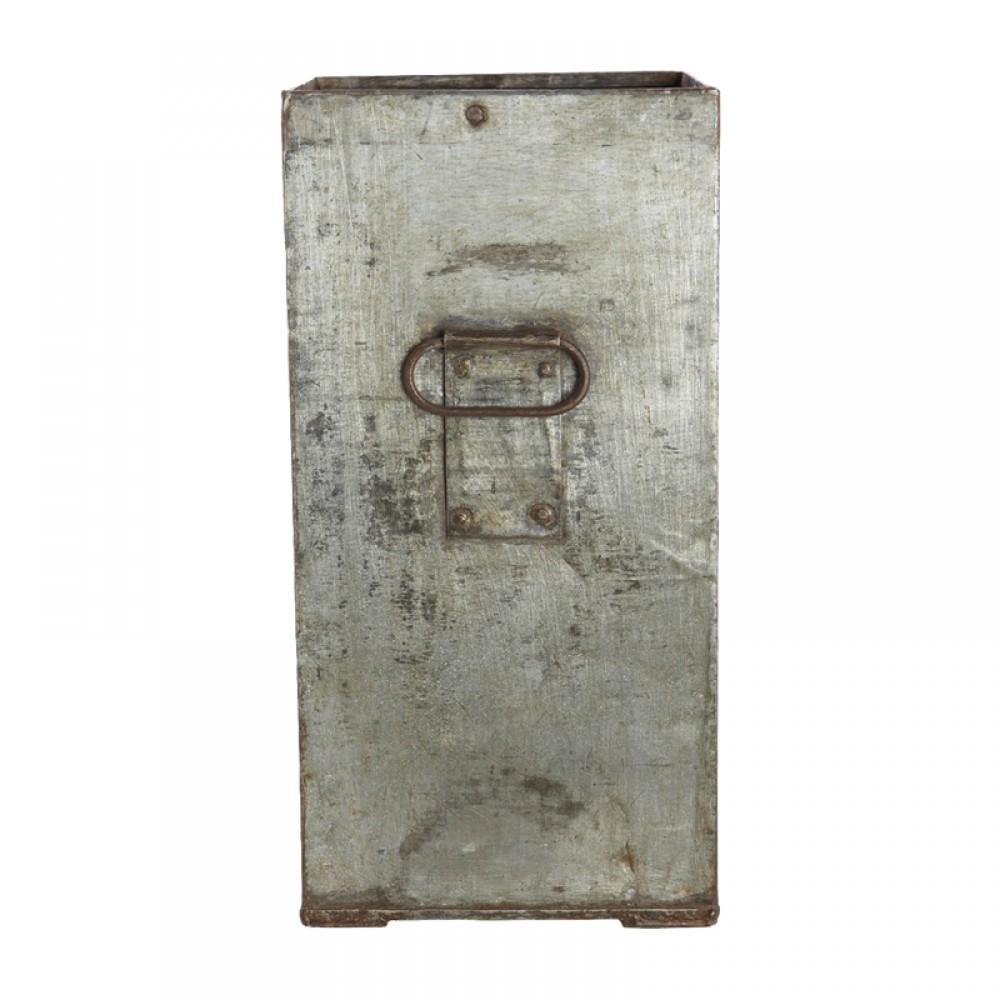 Zink krukke antik look H40cm-30