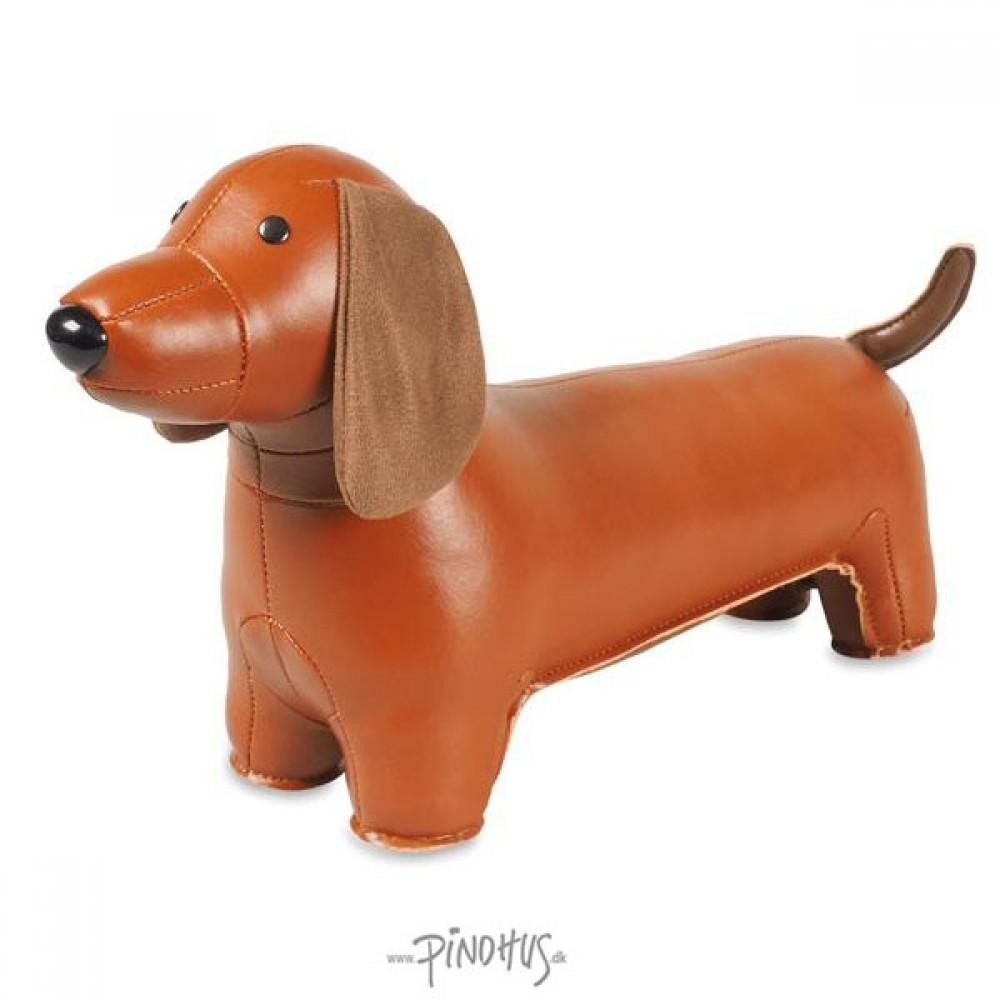 Züny Dørstop Gravhund brun-31