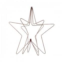 Stjerne kobber 3D-20
