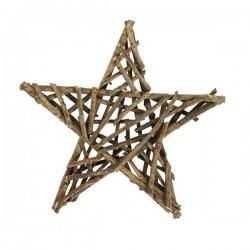 Natur Deko-stjerne 40cm-20