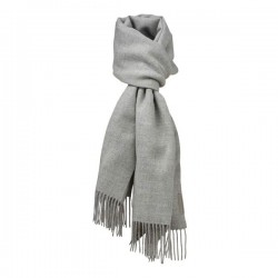 Halstørklæde Baby alpaca Lys grå-20