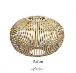 Zep Bambuslampeskærm natur 48cm-20