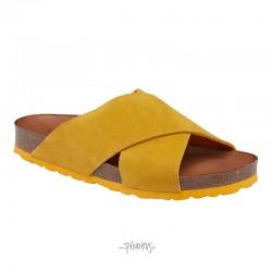 Annet sandal Gul m/ gul bund-20