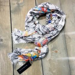 Aperitif tørklæde Flower-20