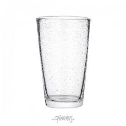 Vandglas m/bobler H14cm-20