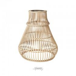 Bambus lampeskærm Zamba natur-20