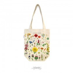 Tote shopping bag Wild flower-20