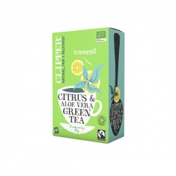 Clipper te Grøn te m/ aloe vera and citrus-20