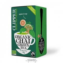 Clipper te Øko. Grøn Chai te-20