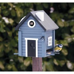 Fuglehus Wildlife Garden Blå Hytte-20