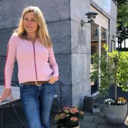 Gorridsen Design Aura cardigan rose/rød-20