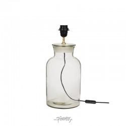 Bordlampe i glas H33cm-20