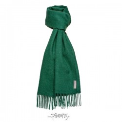 Halstørklæde Baby alpaca flaskegrøn-20