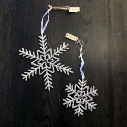 Iskrystal sølvglitter-20