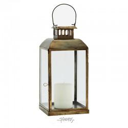 Madam Stoltz Messing lanterne H36cm-20