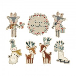 Maileg Til and fra kort Cozy Christmas-20