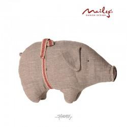 Maileg Hør gris grå small-20