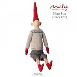 Maileg 2019 Mega Pixy nisse Henry-20