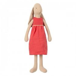 Maileg kanin Pige i rød kjole 42cm-20