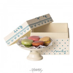 Maileg Box m/Macarons and kagefad-20