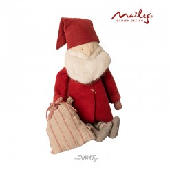 Maileg Jul Winter Friends Santa-20