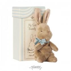 Maileg My first Bunny blå box-20