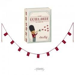 Maileg Guirlande m/ flag-20
