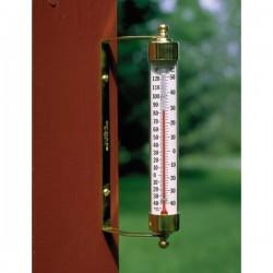 Udendørs termometer messing-20