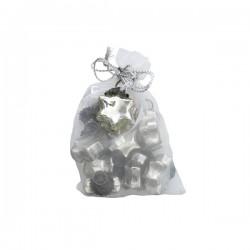 10 stk. Mini glasstjerner-20