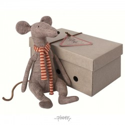 Maileg Mr. Cool rat grey-20