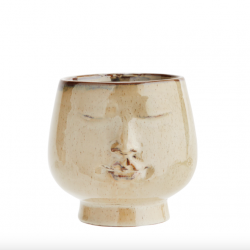 Urtepotte keramik face-20