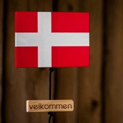 Nordic by hand Snoren m/ flag-20