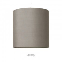 Silke lampeskærm grå-20