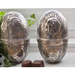 Metalæg sølv look H14cm-20