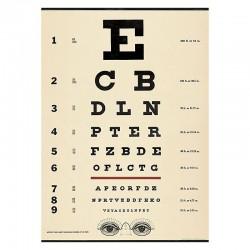Plakat Eye Chart-20