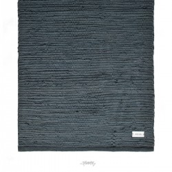 Kludetæppe bomuld Steel grey-20