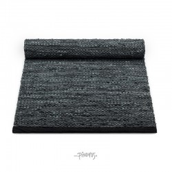 Rug Solid læder Gulvtæppe Grey contrast-20