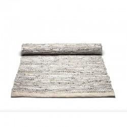 Læder gulvtæppe Natur-20