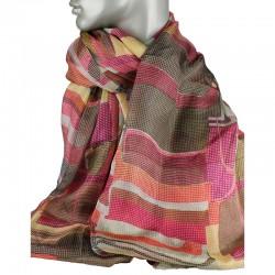 Aperitif silke tørklæde Pixel-20