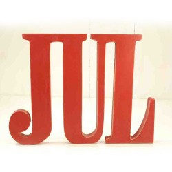 Skilt træbogstaver JUL-20