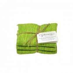 Solwang Karklude 3 stk. Grøn meleret-20