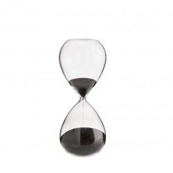 Timeglas sort H16cm-20