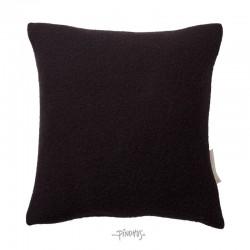 Pudebetræk sort uld 40x40cm-20