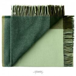 Merino uld plaid Mix farve grøn-20