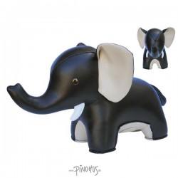 Züny Dørstop Elefant sort-20