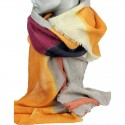 Aperitif tørklæde - Uld heeringbone ocher