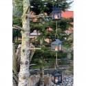 A2 Living - Sort ophæng m/3 lanterner