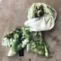 Aperitif silke tørklæde - Green forest
